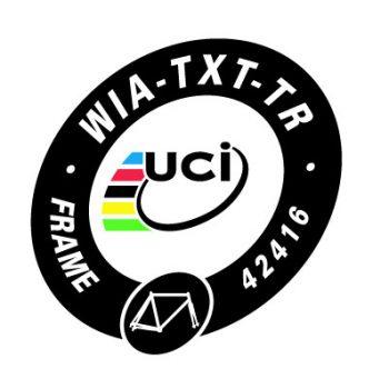 UCIに正式認可されました(TXTシリーズ)
